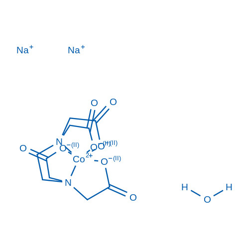 Ethylenediaminetetraacetic Acid Disodium Cobalt Salt Hydrate