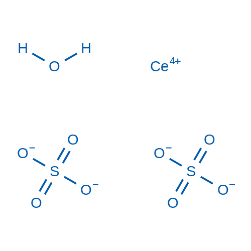 Cerium(IV) sulfate xhydrate