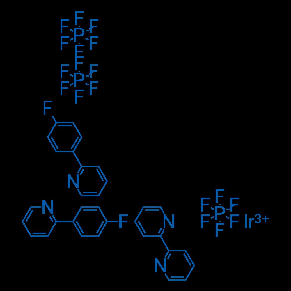 (2,2'-Bipyridyl)bis[2-(4-fluorophenyl)pyridine]iridium(III) hexafluorophosphate