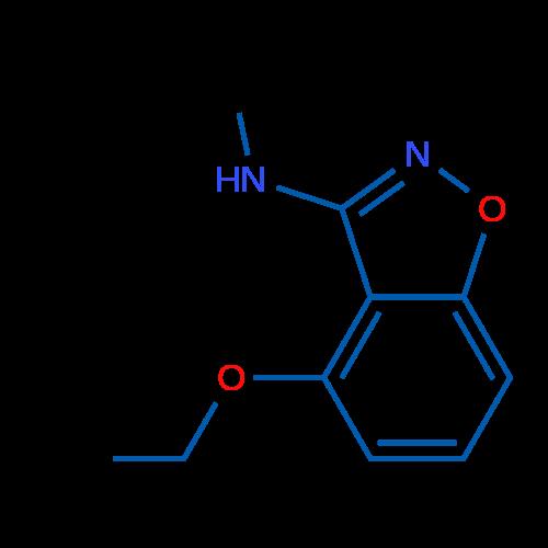 4-Ethoxy-N-methylbenzo[d]isoxazol-3-amine