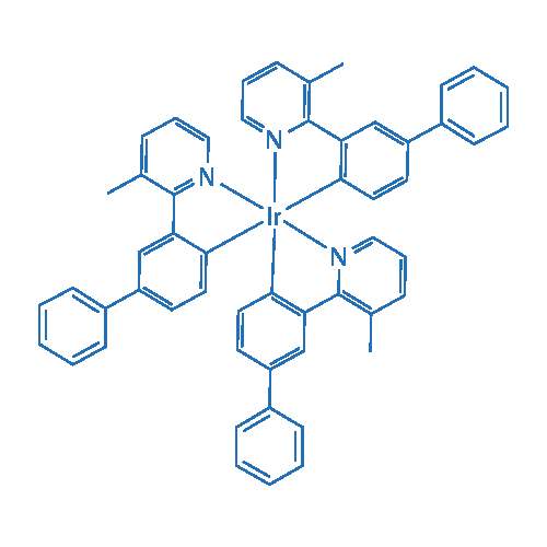 Iridium, tris[3-(3-methyl-2-pyridinyl- N)[1,1'-biphenyl]-4-yl- C]-