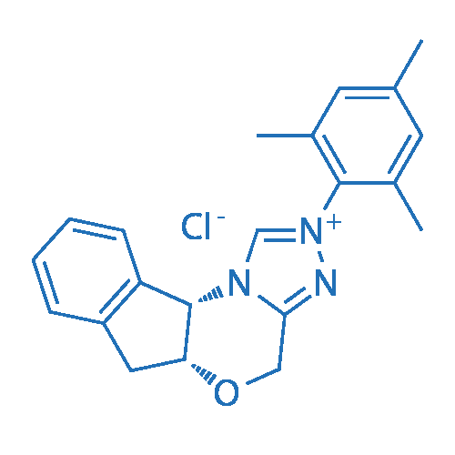 (+)-(5aR,10bS)-5a,10b-Dihydro-2-(2,4,6-trimethylphenyl)-4H,6H-indeno[2,1-b][1,2,4]triazolo[4,3-d][1,4]oxazinium chloride
