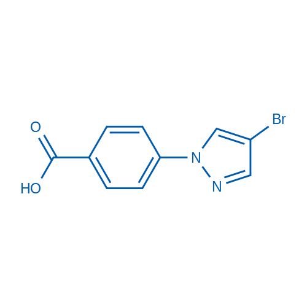 4-(4-Bromopyrazol-1-yl)benzoic acid