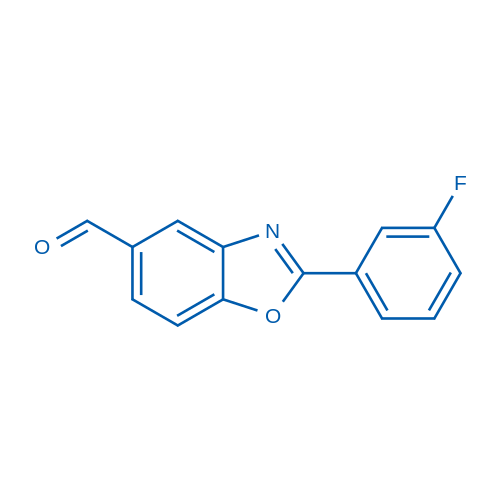 2-(3-Fluorophenyl)benzo[d]oxazole-5-carbaldehyde