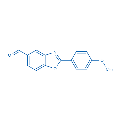 2-(4-Methoxyphenyl)benzo[d]oxazole-5-carbaldehyde
