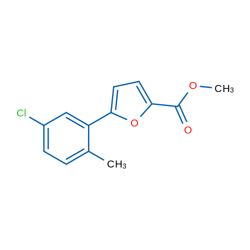 Methyl 5-(5-chloro-2-methylphenyl)furan-2-carboxylate