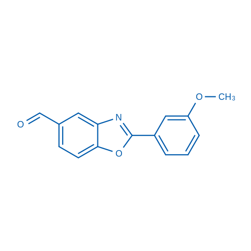2-(3-Methoxyphenyl)benzo[d]oxazole-5-carbaldehyde