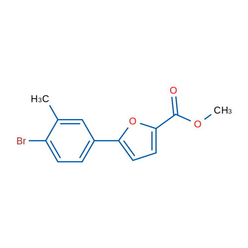 Methyl 5-(4-bromo-3-methylphenyl)furan-2-carboxylate