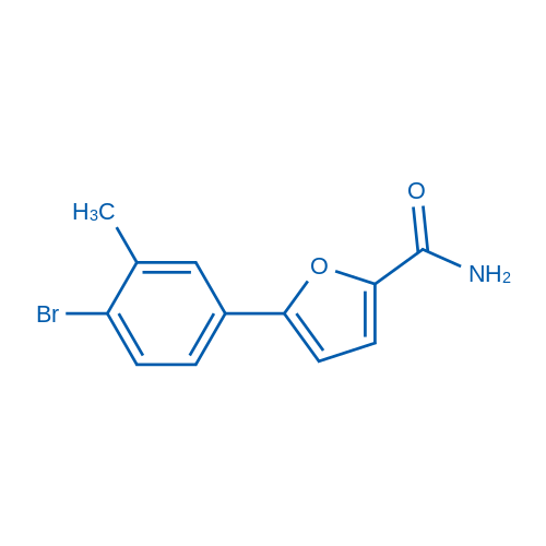 5-(4-Bromo-3-methylphenyl)furan-2-carboxamide