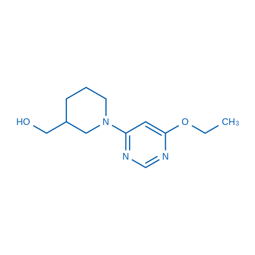 (1-(6-Ethoxypyrimidin-4-yl)piperidin-3-yl)methanol