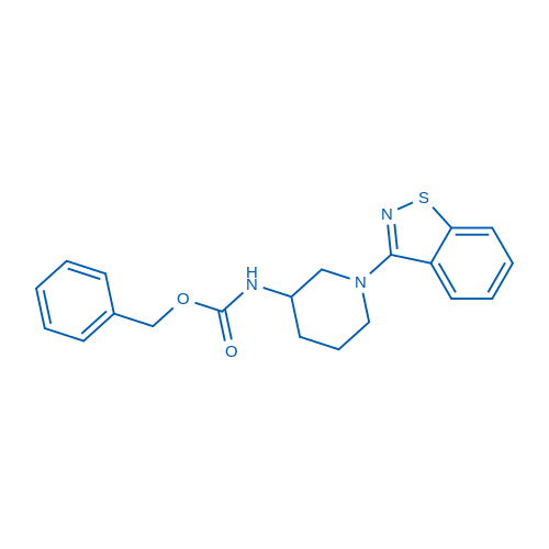 Benzyl (1-(benzo[d]isothiazol-3-yl)piperidin-3-yl)carbamate