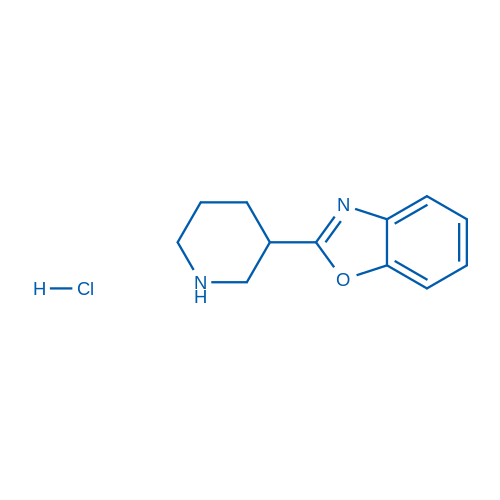 2-(Piperidin-3-yl)benzo[d]oxazole hydrochloride