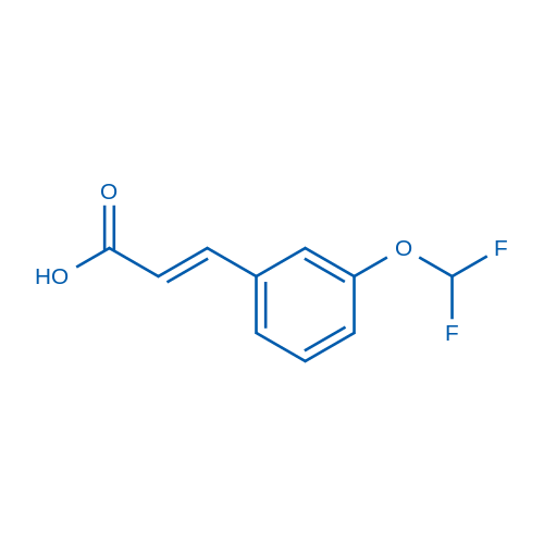 3-(Difluoromethoxy)cinnamic acid