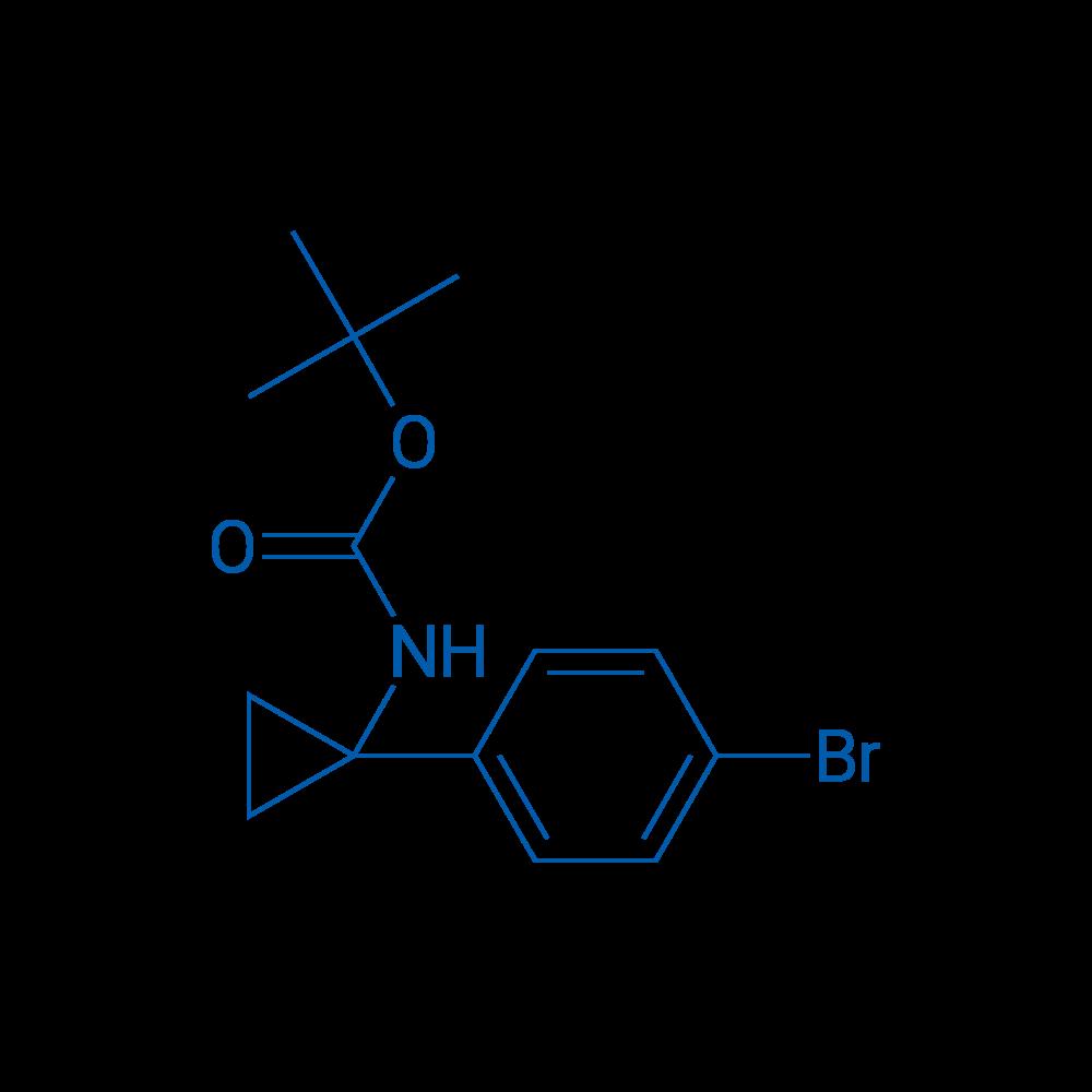 tert-Butyl (1-(4-bromophenyl)cyclopropyl)carbamate