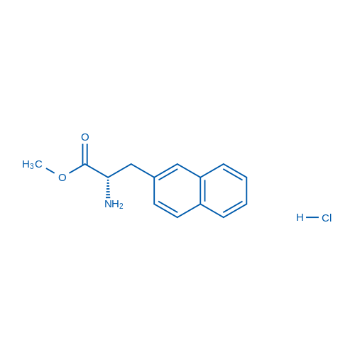 (S)-Methyl 2-amino-3-(naphthalen-2-yl)propanoate hydrochloride