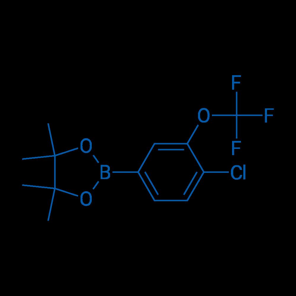 2-(4-Chloro-3-(trifluoromethoxy)phenyl)-4,4,5,5-tetramethyl-1,3,2-dioxaborolane