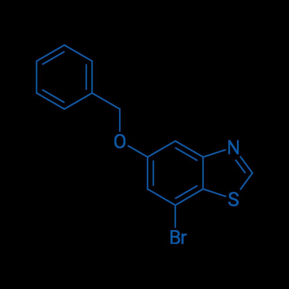 5-(Benzyloxy)-7-bromobenzo[d]thiazole