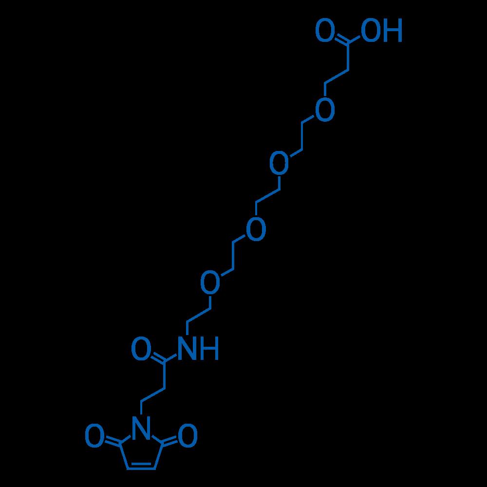 1-(2,5-Dioxo-2,5-dihydro-1H-pyrrol-1-yl)-3-oxo-7,10,13,16-tetraoxa-4-azanonadecan-19-oic acid