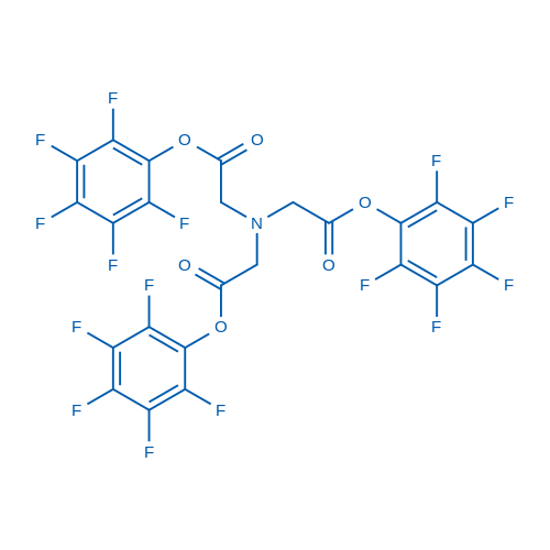 (BIs-pentafluorophenyloxycarbonylmethyl-amino)-acetic acid pentafluorophenyl ester