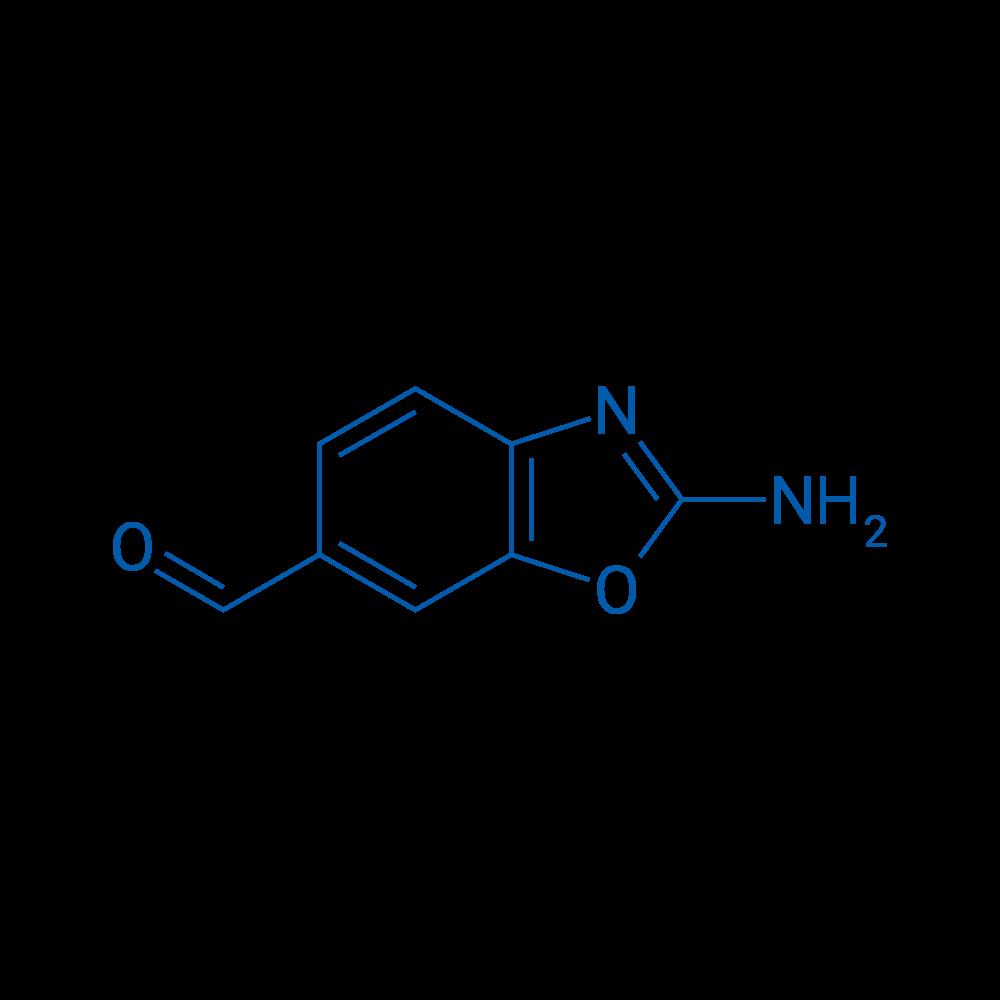 2-Amino-1,3-benzoxazole-6-carbaldehyde