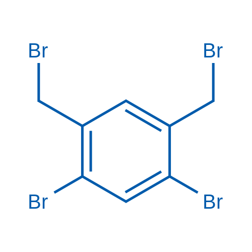 1,5-Dibromo-2,4-bis(bromomethyl)benzene