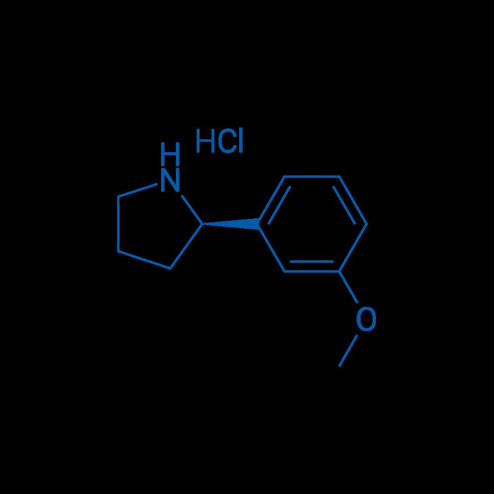 (R)-2-(3-Methoxyphenyl)pyrrolidine hydrochloride