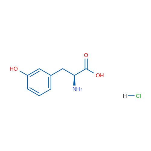 (S)-2-Amino-3-(3-hydroxyphenyl)propanoic acid hydrochloride