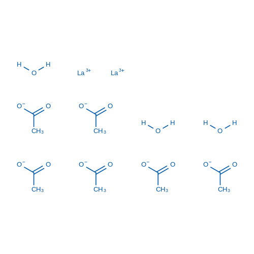 Lanthanum(III) Acetate Sesquihydrate