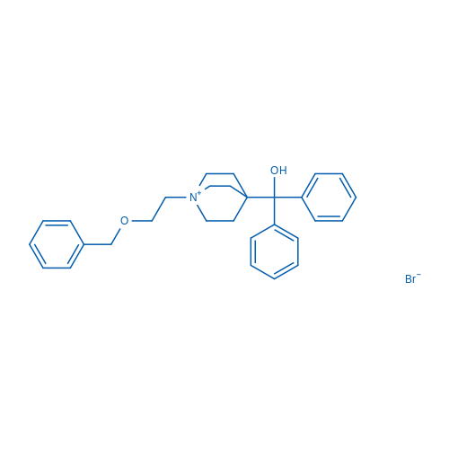 1-[2-(Benzyloxy)ethyl]-4-(hydroxydiphenylmethyl)-1-quinuclidinium Bromide