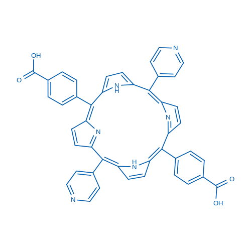 5,15-DI(4-pyridyl)-10,20-di(4-carboxyphenyl)porphine