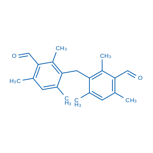 3,3'-Methylenebis(2,4,6-trimethylbenzaldehyde)