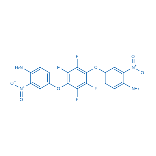 4,4'-[(2,3,5,6-Tetrafluoro-1,4-phenylene)bis(oxy)]bis(2-nitroaniline)