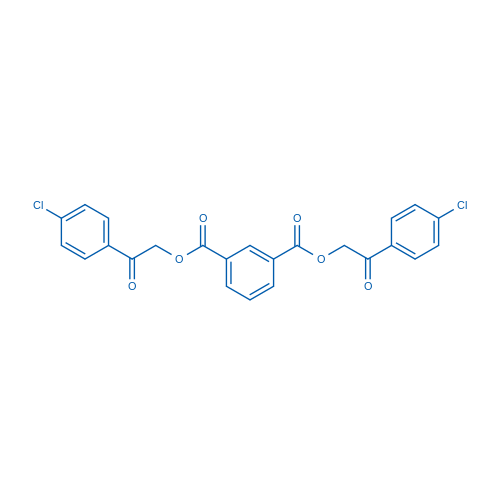 Bis[2-(4-chlorophenyl)-2-oxoethyl] isophthalate