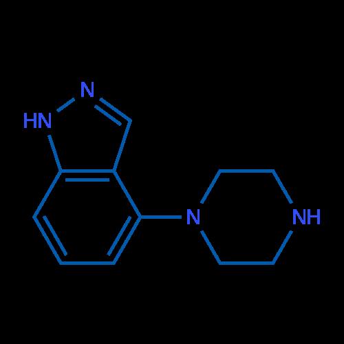 4-(Piperazin-1-yl)-1H-indazole