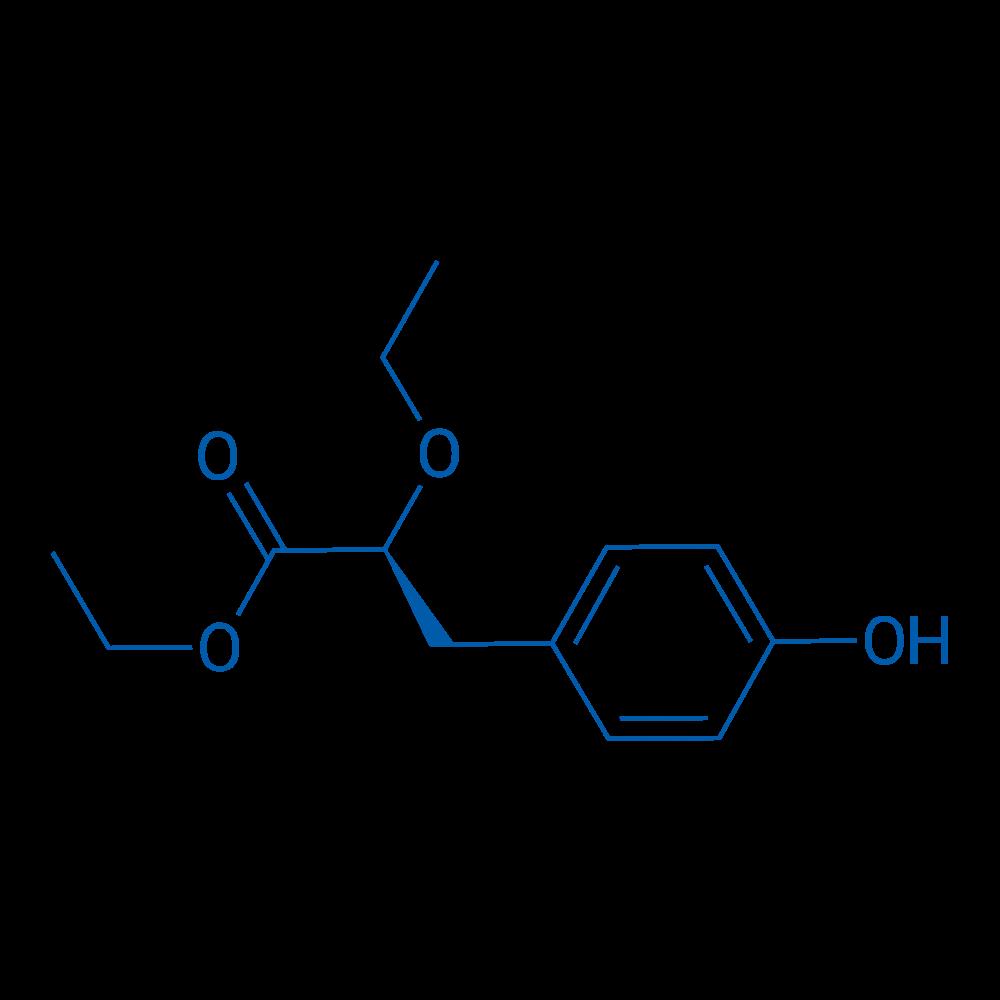 (S)-Ethyl 2-ethoxy-3-(4-hydroxyphenyl)propanoate