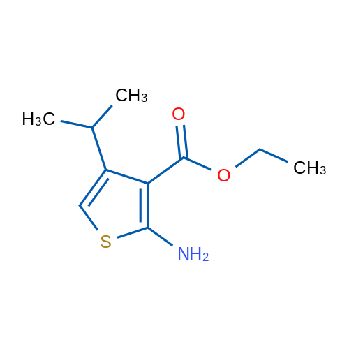 Ethyl 2-amino-4-isopropylthiophene-3-carboxylate