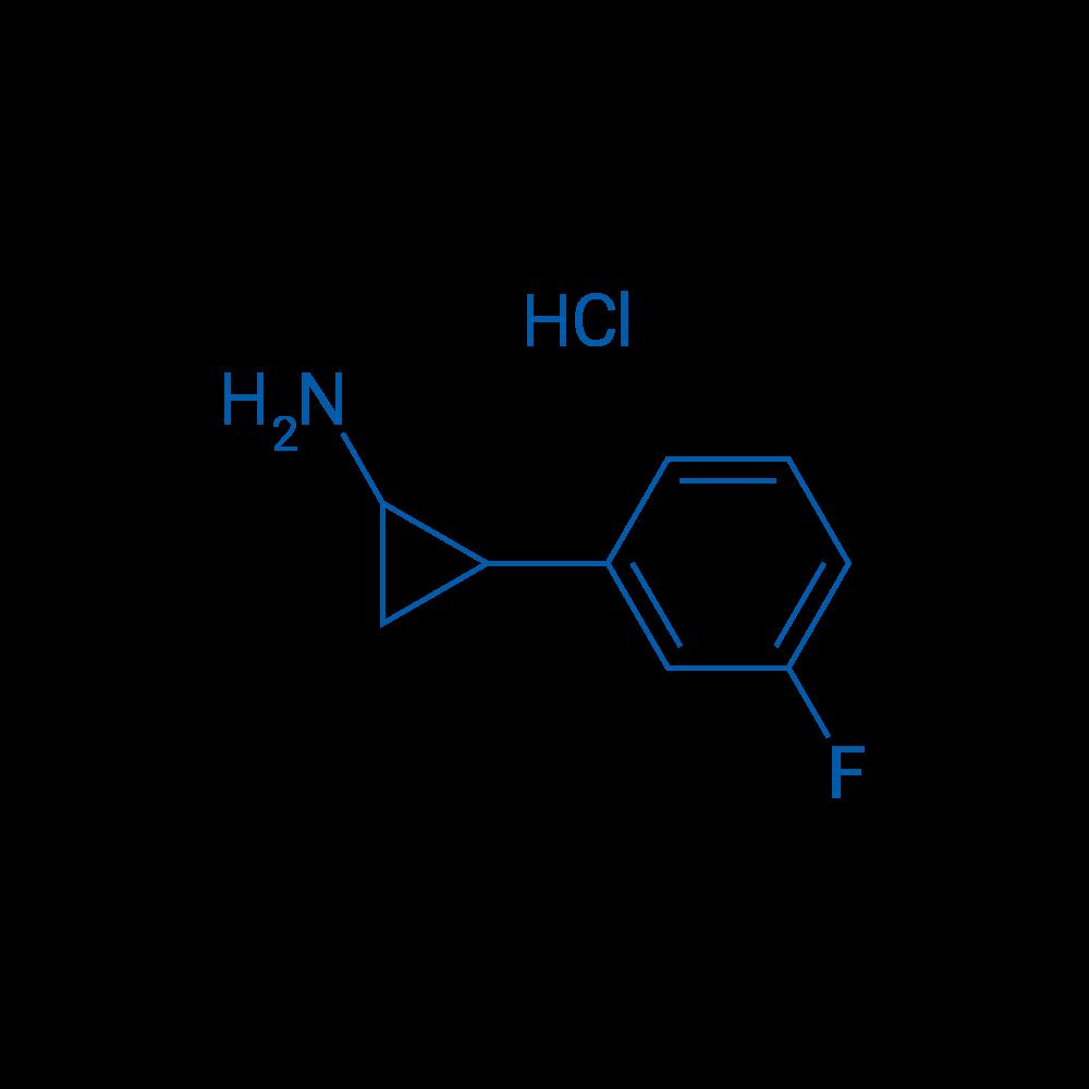 2-(3-FLuorophenyl)cyclopropan-1-amine hydrochloride