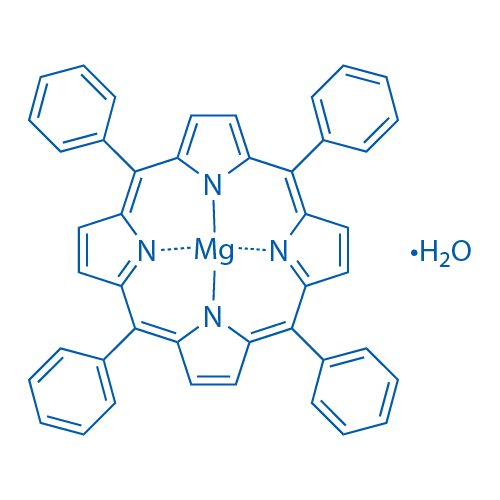 MG(ii) meso-tetraphenylporphine hydrate