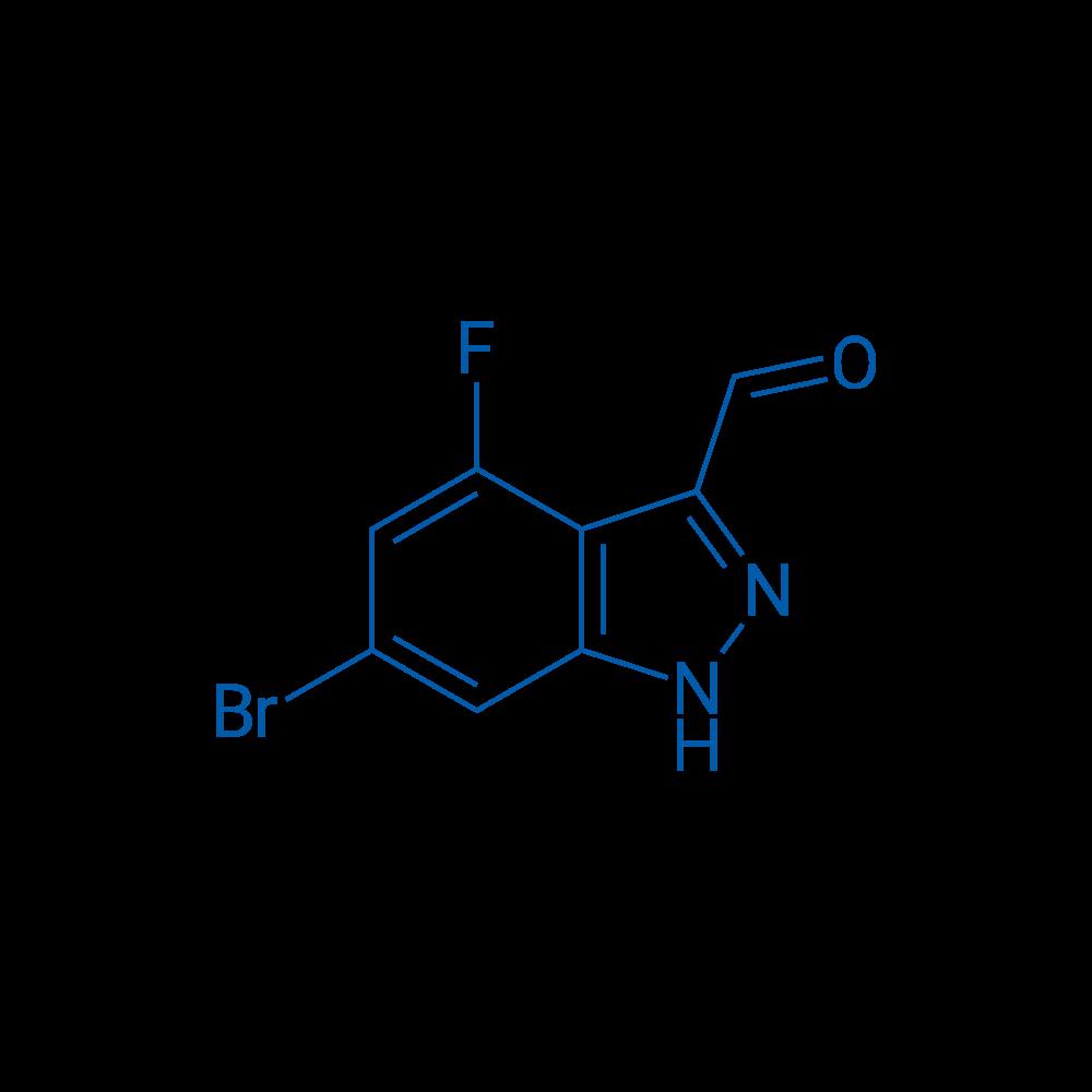 6-Bromo-4-fluoro-1H-indazole-3-carbaldehyde