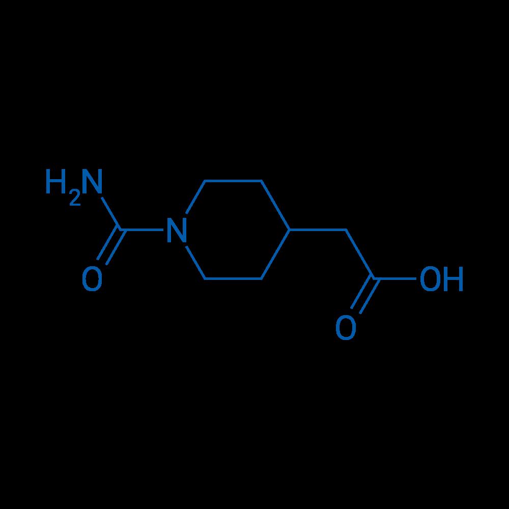 2-(1-Carbamoylpiperidin-4-yl)acetic acid