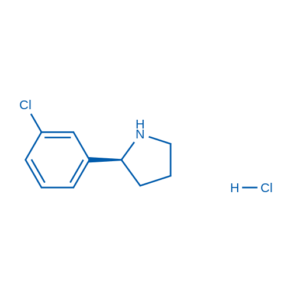 (S)-2-(3-Chlorophenyl)pyrrolidine hydrochloride