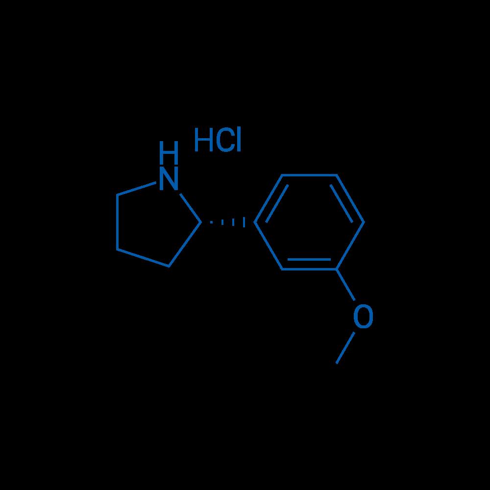 (S)-2-(3-Methoxyphenyl)pyrrolidine hydrochloride