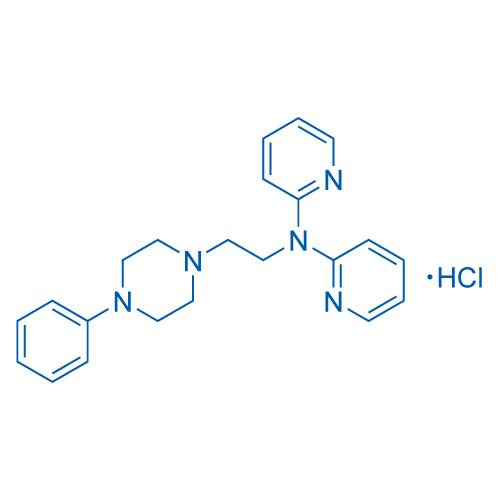 Bis(N-{2-[4-(2-methoxyphenyl)piperazin-1-yl]ethyl}-N-(pyridin-2-yl)pyridin-2-amine) hydrate dihydrochloride
