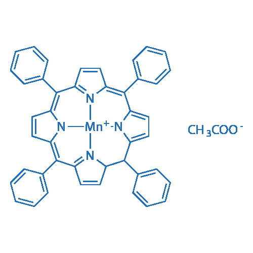 Acetato(meso-tetraphenylporphyrinato)manganese(III)