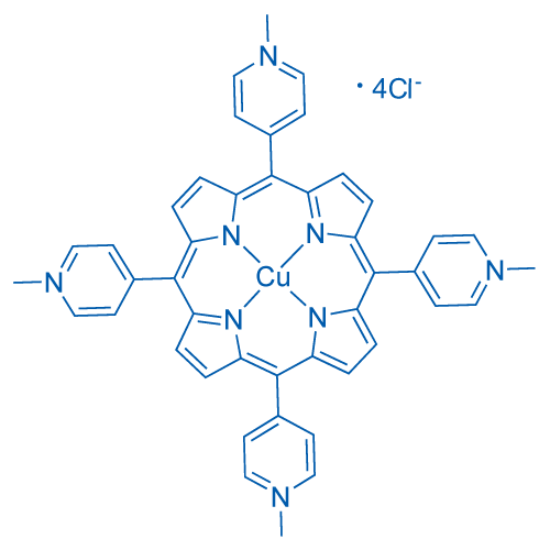 Cu(II) meso-Tetra(N-methyl-4-pyridyl) porphine tetrachloride
