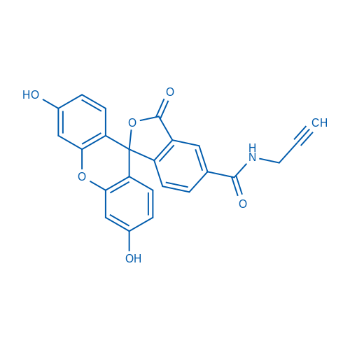 3',6'-Dihydroxy-3-oxo-N-(prop-2-yn-1-yl)-3H-spiro[isobenzofuran-1,9'-xanthene]-5-carboxamide