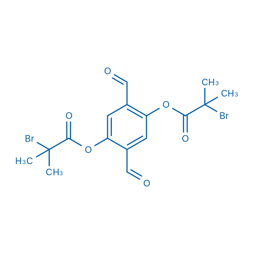 2,5-Diformyl-1,4-phenylene bis(2-bromo-2-methylpropanoate)