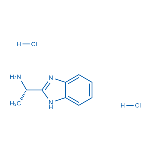 (S)-1-(1H-benzo[d]imidazol-2-yl)ethanamine dihydrochloride