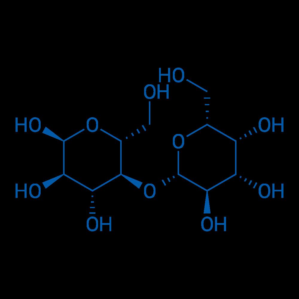 (2S,3R,4R,5S,6R)-6-(Hydroxymethyl)-5-(((2S,3R,4S,5R,6R)-3,4,5-trihydroxy-6-(hydroxymethyl)tetrahydro-2H-pyran-2-yl)oxy)tetrahydro-2H-pyran-2,3,4-triol