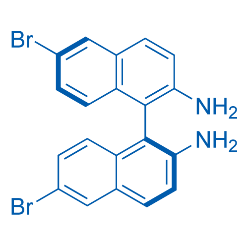 (S)-6,6'-Dibromo-[1,1'-binaphthalene]-2,2'-diamine
